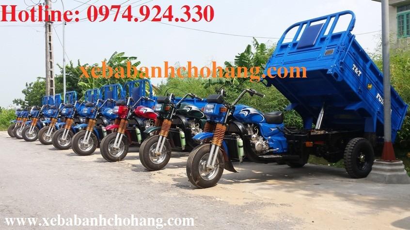 Giới thiệu xe ba bánh chở hàng FUSHIDA