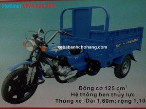 Xe lôi Trung Quốc chở hàng FUSHIDA 125cc